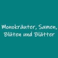 Monokräuter, Samen, Blüten und Blätter